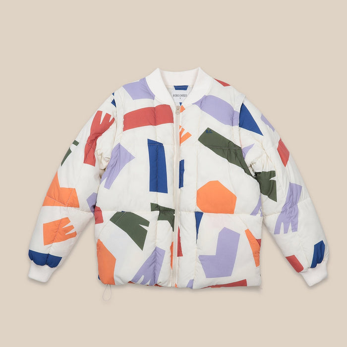 Bobo Choses  Shadows Zip Off Sleeves Jacket on Design Life Kids
