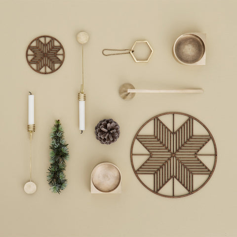Ferm Living Modern Holiday Decor on DLK