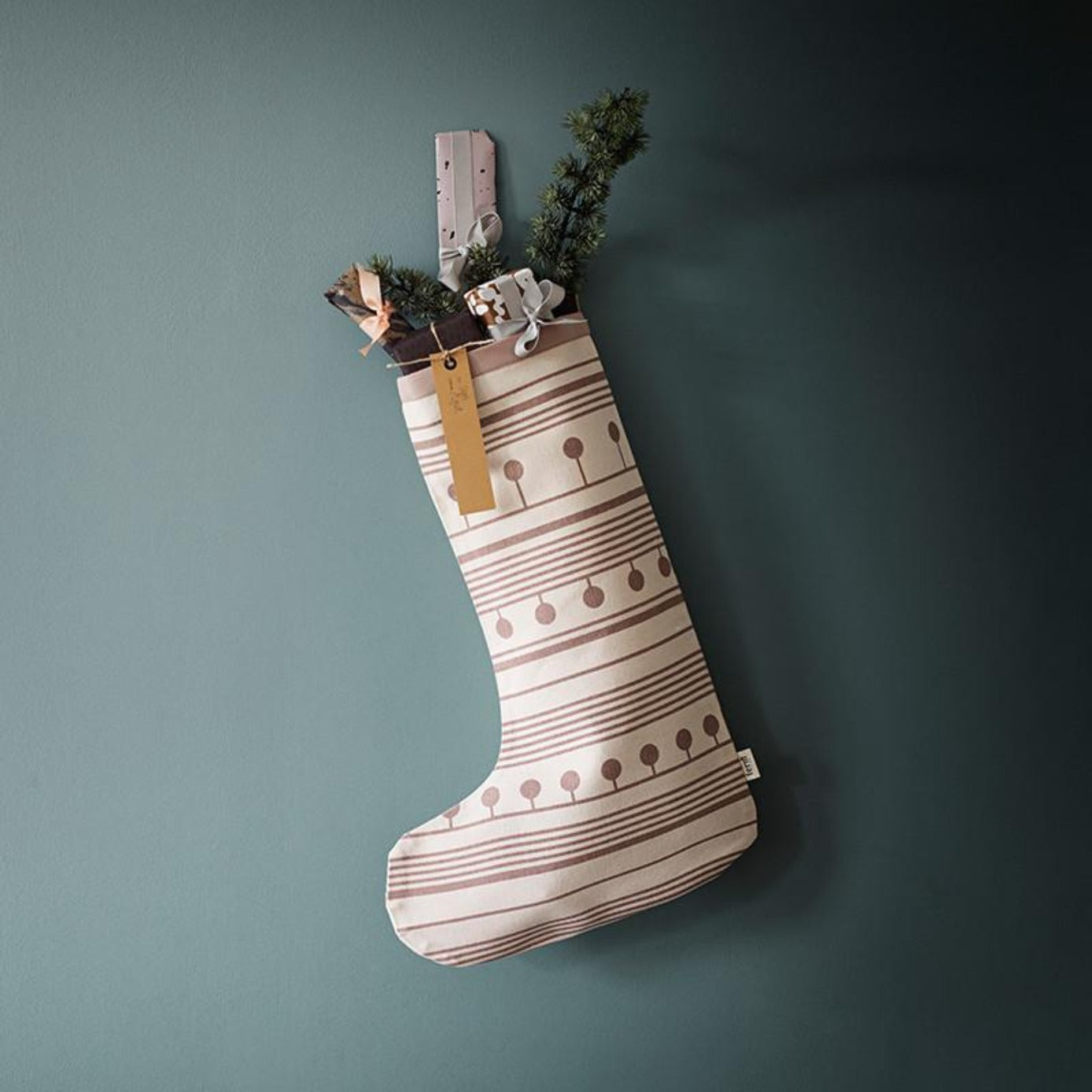 Ferm Living Winterland Christmas Stocking on DLK