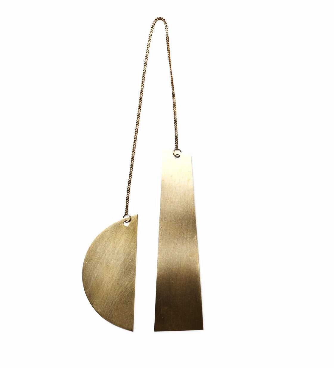 Ferm Living Twin Moon Brass Ornaments on DLK | designlifekids.com