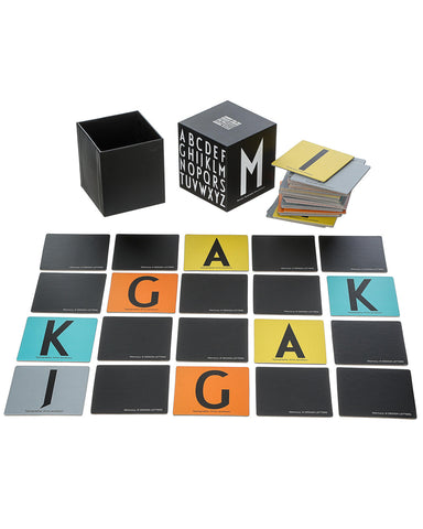 Design Letters Alphabet Memory Game on DLK | designlifekids.com