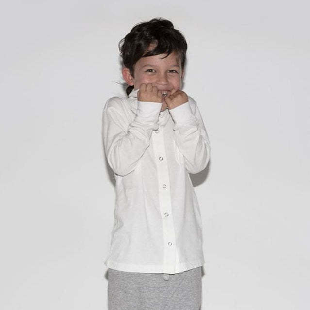 Nununu Tutu du Monde Snap Button Shirt on DLK | designlifekids.com
