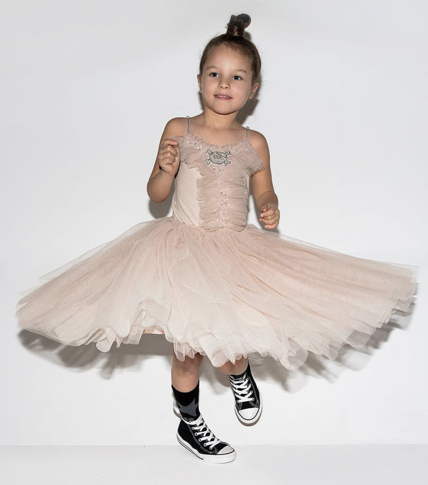 Tutu du Monde and Nununu Skull Patch Dress on DLK \ designlifekids.com