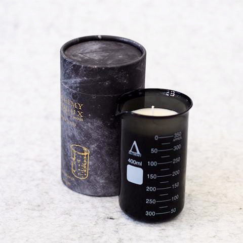 Alchemy Produx 330 Amber BEAKER CANDLE ON DLK
