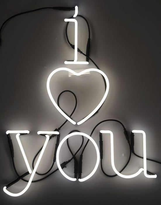 Seletti Neon Art Letter Lights on DLK