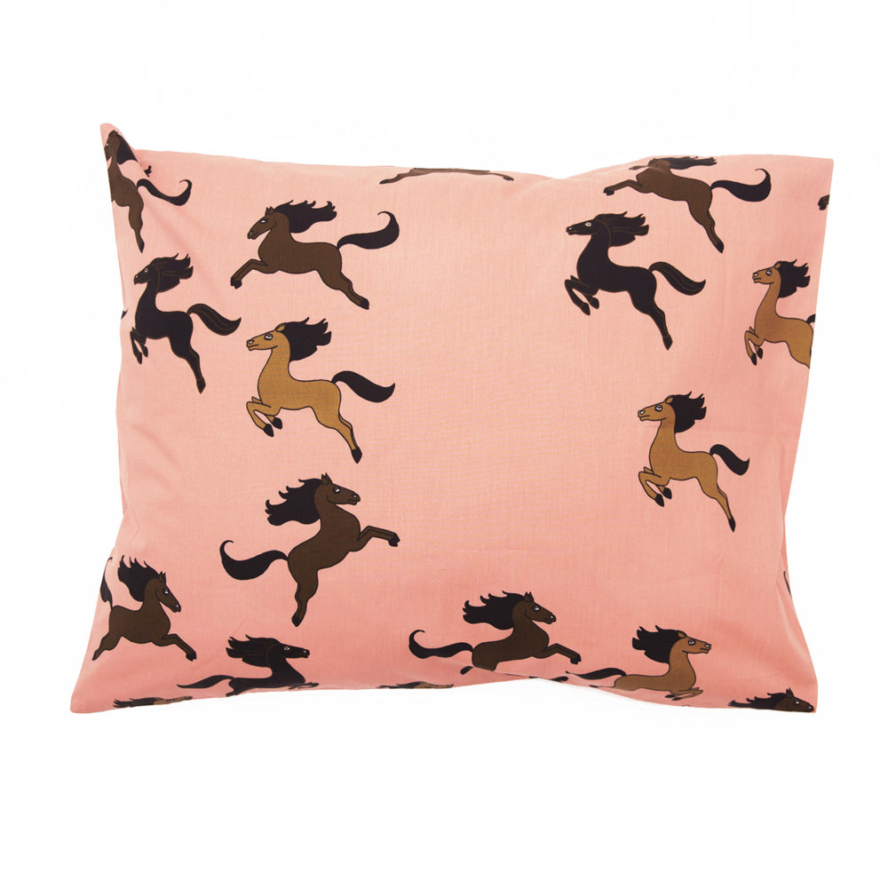 Mini Rodini Horse Pillowcase on DLK | designlifekids.com