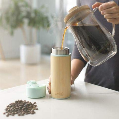 Welly Bamboo Stainless Steel Insulated Travel Mug on Design Life Kids
