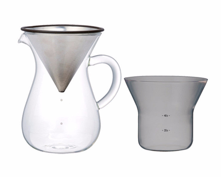 Kinto Japan SCS Coffee Carafe Set on DLK | designlifekids.com