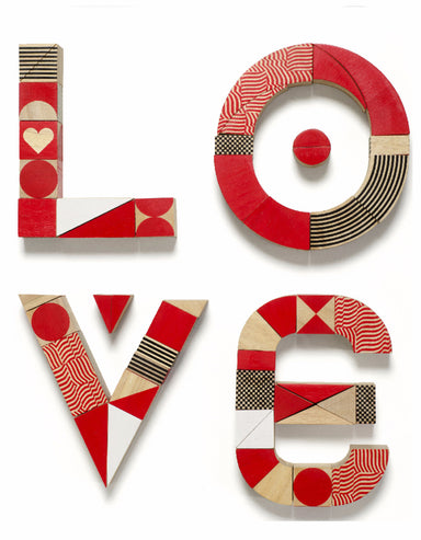 Miller Goodman Heartshapes Puzzle Blocks on DLK