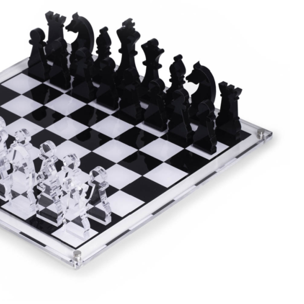 Acrylic Chess Set on Design Life Kids