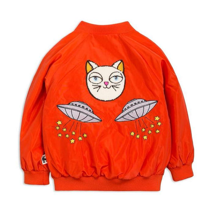 Space Cat Baseball Jacket