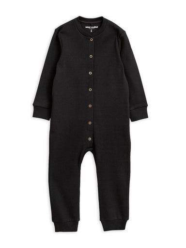 Mini Rodini Solid Rib Jumpsuit on DLK | designlifekids.com