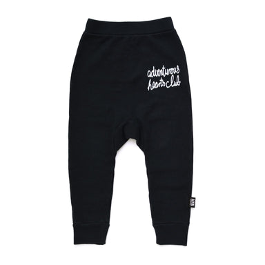 Little Man Happy Adventurous Hearts Club Sweatpants on DLK | designlifekids.com