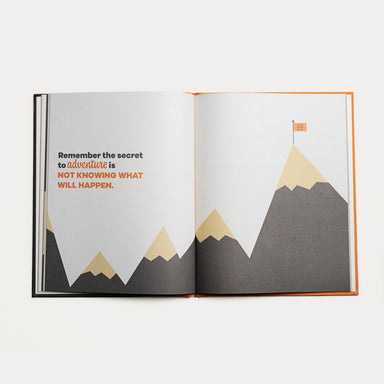 A Kids Book About Adventure on Design Life Kids