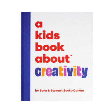 A Kids Book About Creativity on Design Life Kids