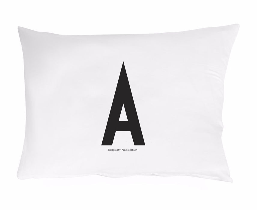Design Letters Arne Jacobsen Personal Pillowcase on DLK