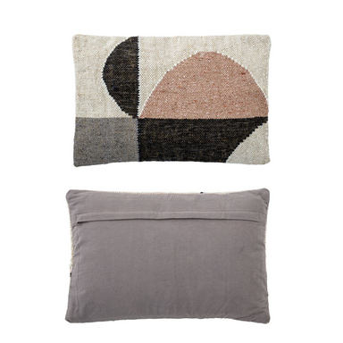 Abstract Woven Pillow on Design Life Kids