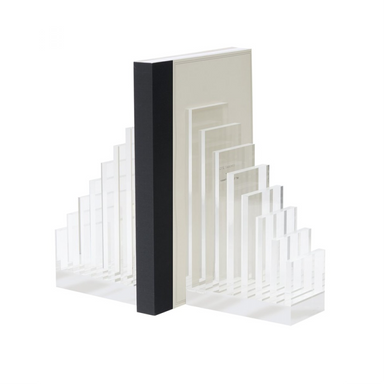Russell and Hazel Acrylic Bookend on Design Life Kids