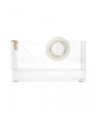 Russell and Hazel Acrylic and Gold Tape Dispenser on Design Life Kids