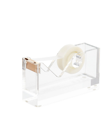 Acrylic & Gold Tape Dispenser