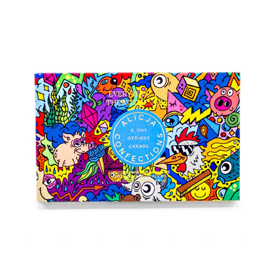 Alicja Confections Chocolate Postcard Bar on Design Life Kids