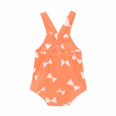 All Over Bow Print Romper at Design Life Kids