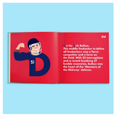 Alphabet Legends Football Picture Book on Design Life Kids
