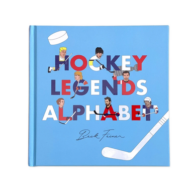 Alphabet Legends Ice Hockey Legends Picture Book on Design Life Kids