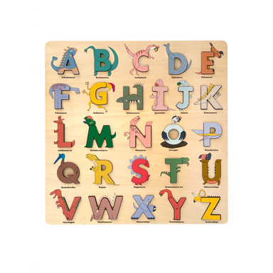 Alphabet Legends Puzzle on Design Life Kids