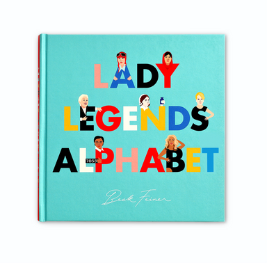 Lady Legends Alphabet Picture Book on Design Life Kids