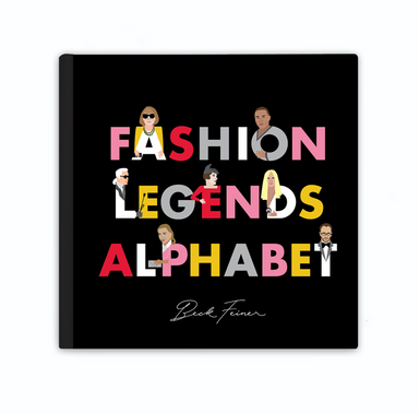 Fashion Legends Alphabet Picture Book on Design Life Kids
