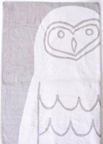 Morihata Animal Owl Bath Towel on DLK | designlifekids.com