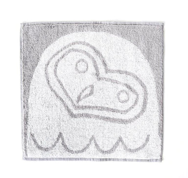 Morihata Animal Owl Washcloth Towel at Design Life Kids
