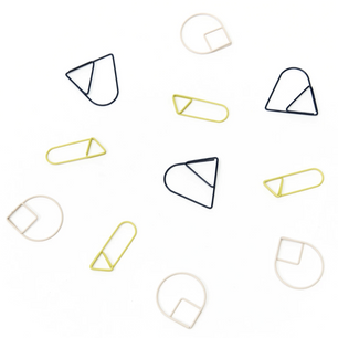 Areaware Colorful Paper Clip Set on Design Life Kids