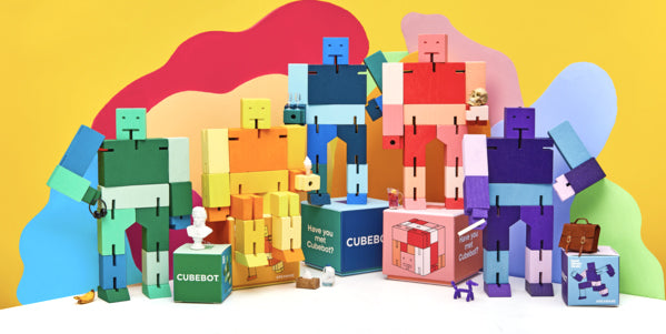 Areaware Cubebot Capsule Collection on Design Life Kids