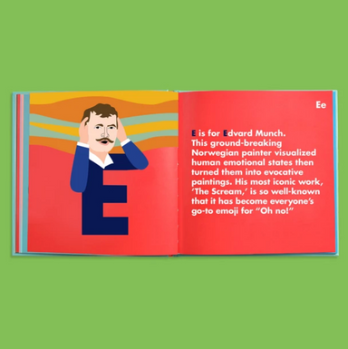 Art Legends Alphabet Picture Book on Design Life Kids