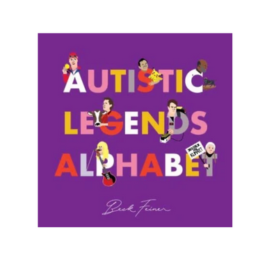 Autistic Legends Alphabet Book on Design Life Kids