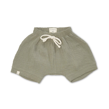 Bacabuche Gauze Oversized Shorts on Design Life Kids
