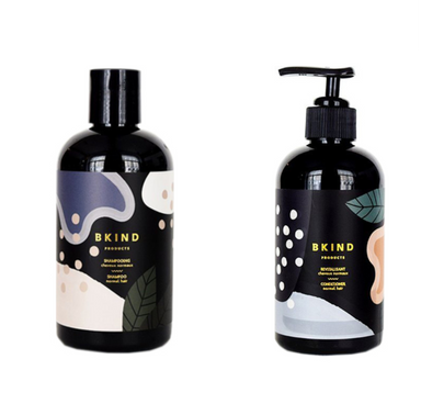 BKind Natural Mandarin & Juniper Berry Shampoo and Conditioner Set on Design Life Kids