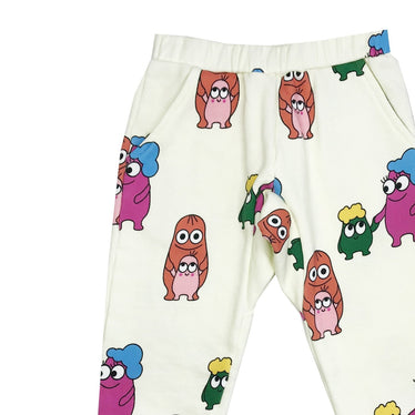 Banana Valentine Sweatpants on Design Life Kids