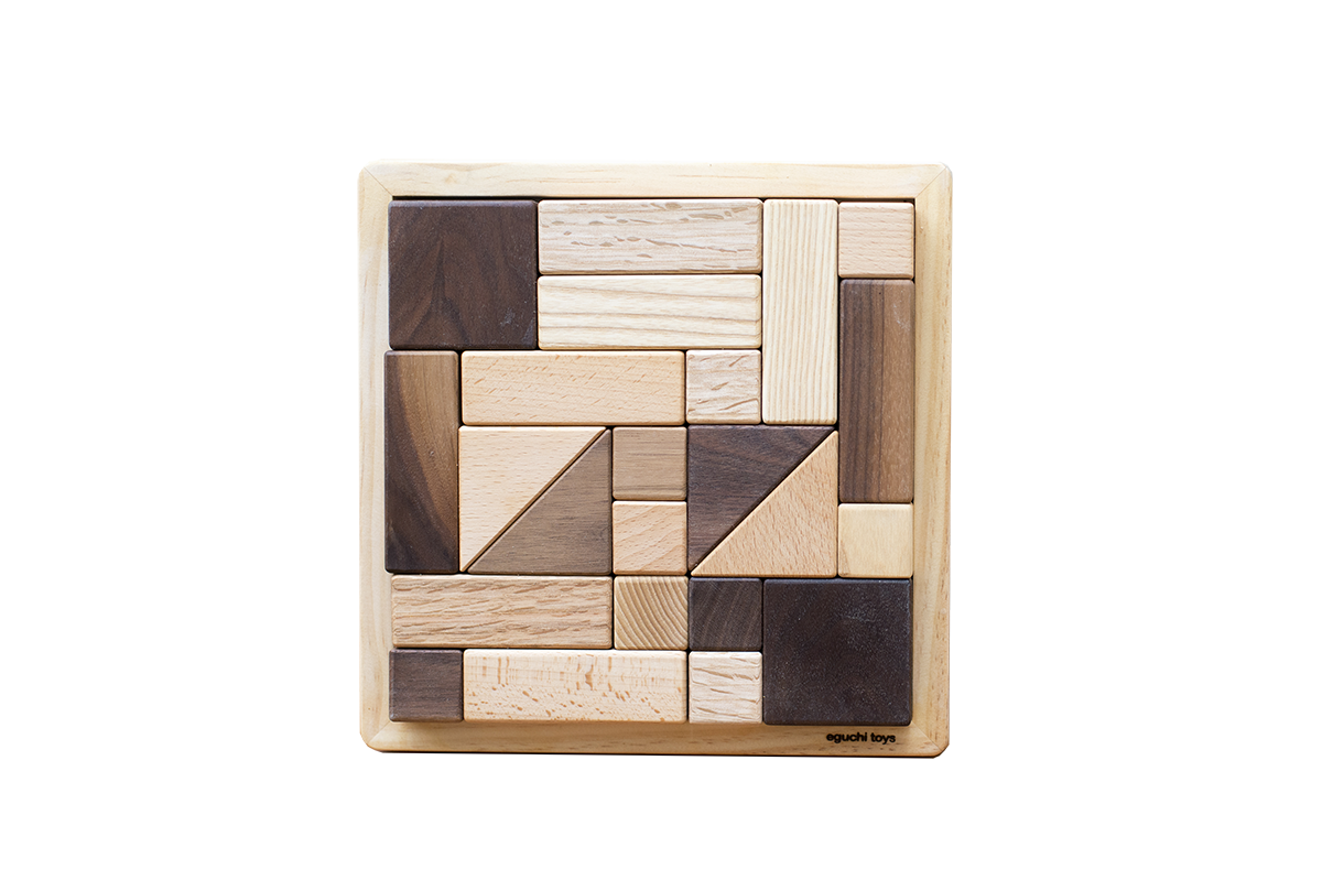 Eguchi Toys Puzzle Blocks on DLK | designlifekids.com