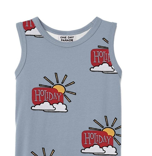 One Day Parade Holiday Tank Top on DLK | designlifekids.com