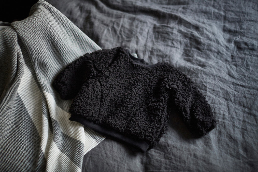 Bacabuche Teddy Sweater on DLK | designlifekids.com