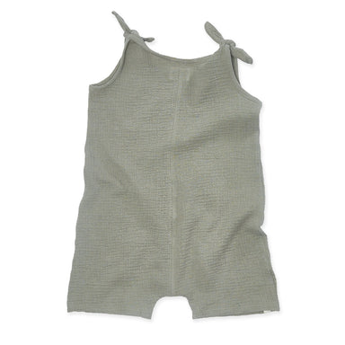 Bacabuche Gauze Tie Romper on Design Life Kids
