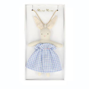 Meri Meri Bunny Doll Necklace at Design Life Kids