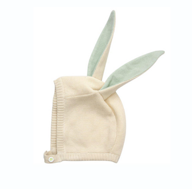 Meri Meri Mint Bunny Bonnet at Design Life Kids