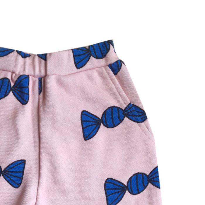Banana Valentine Candies SHORTS on Design Life Kids
