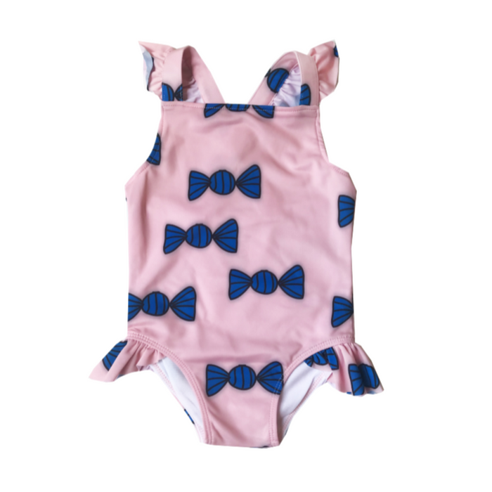 BananaValentine Candies Swimsuit on DesignLifeKids