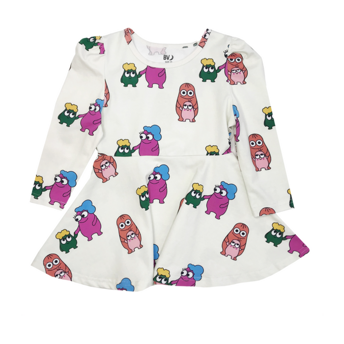 Banana Valentine Dress on Design Life Kids