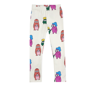 Banana Valentine Leggings on Design Life Kids